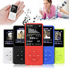 8GB 70 Hours Playback MP3 MP4 Lossless Sound Music Player FM Recorder TF Card