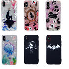 Super Hero Cartoon Soft Silicone Bumper Fitted Phone Cover Case For iPhone X