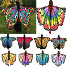 Women Fashion Soft Butterfly Wing Cape Dress Scarf Long Wrap Shawl Scarves Party