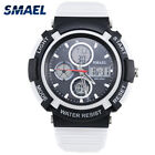 Men Sports Swim Watch Waterproof Date Stopwatch Digital Dual Display Electronic