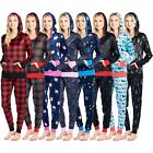 Ashford & Brooks Women's Mink Fleece Hoodie Pajama Pjs Tracksuit Jog Set Pajamas