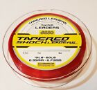 ASSO Tapered Shockleader Fishing Line - RED - Long Casting  - 5 Per Spool