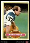 1980 Topps #108 Hank Bauer Chargers NM/MT $0.99 USD