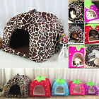 Hot Sale Comfortable Strawberry Pet Dog Cat House Kennel Doggy Cushion Basket
