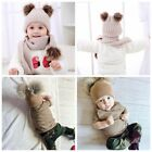 Winter Warm Baby Hats Baby Cap For Children Winter Knitted Double Pom pom Hat