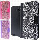 For LG X Power 2 Premium Bling Diamond Wallet Case Flip Pouch Phone Cover