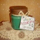 Winter Scented Holiday Soy Wax 8 oz Jar Candle~~~ Choose Your Favorite Scent~~~