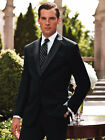 Ralph Lauren Cristal Black Fine Super 130 Wool 2 Button Tuxedo Prom Tux Package
