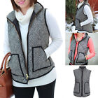 Women's Excursion Quilted Puffer Waistcoat Herringbone Outwear Gilet Jacket Vest