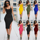 Sexy Women Summer Casual Bandage Bodycon Evening Party Cocktail Short Mini Dress