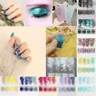 Glitter Nail Art Professional Nail Powder Gradient 4 Colors Set Nail EN24H 01