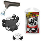 Masters Ultra Grip Softspikes Golf Shoe Cleats Pack New All Insert Fittings