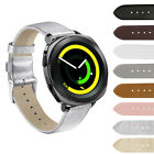 Accessory Genuine Leather Watch Wristband+Metal Buckle For Samsung Gear Sport