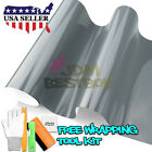 *Premium Gloss Nardo Gray Car Vinyl Wrap Sticker Decal Air Release Bubble Free