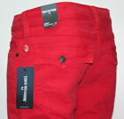 True Religion Men's RICKY Relaxed Straight Leg Jeans True Red Made in the USA