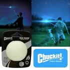 Chuckit MAX GLOW Ball Dog Puppy Night Time Toy Fits Launchers - 3 Sizes