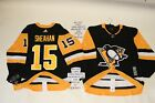 Riley Sheahan Pittsburgh Penguins Adidas Home Authentic Hockey Jersey