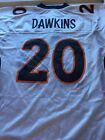 BRAND NEW BRIAN DAWKINS #20 RETRO DENVER BRONCOS WHITE REEBOK JERSEY FREE SHIP on eBay