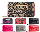 Betsey Johnson Boxed Zip Around Phone CC Holder Purse Clutch Continental Wallet
