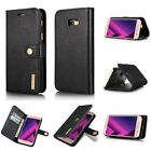 Luxury Genuine Leather Case Wallet Filp Cover Pouch For Samsung Galaxy Phones C