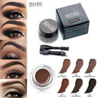 Eyebrow Enhancers Waterproof Long Lasting EyeBrow Gel Cream Makeup + Brush NEW
