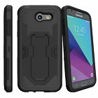 For Samsung Galaxy J3 Emerge | Luna Pro (2017) Case Belt Clip Kickstand Cover