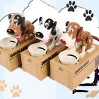Creative Puppy Hungry Eating Dog Piggy Bank Money Saving Box Funny Kid's Gift