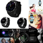 Bluetooth Android 3G Heart Rate Monitor Camera GPS Wristwatch Smart Watch Phones