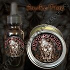 Devil's Mark Sasquatch Beard Balm Beard Oil Triple Six Artistry Smoke Pine