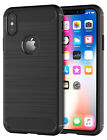 Shamo's Case For iPhone XS / X Black iPhone 10 Cover Heavy Duty Shockproof TPU