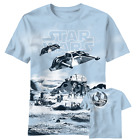 Star Wars Snowpeeders Snowdrift Light Blue Men's Graphic T-Shirt New $12.31 USD on eBay
