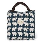 Cartoon Pattern Bag Cooler Bag Picnic Pouch Lunch Bag Container with W3LE 01