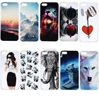 TPU Dust Proof Printed Pattern Phone Case Cover For iPhone5/ iPhone6S/ DZ88