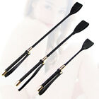 New Soft Grip Faux Leather Handle Riding Crop Flogger Horse Whips Black 30 45 54