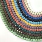 """Wholesale 6mm 8mm 10mm Natural Lava Rock Round Spacer Loose Beads 15"""" Free Ship"""