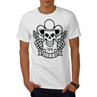 Western Cowboy Skull Guns Men T-shirt S-5xl New | Wellcoda