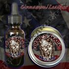 Devil's Mark MOAB Beard Balm Beard Oil Tattoo Aftercare Cinnamon Suede