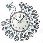 Large Wall Shiny Rhinestone Clock Sun Style Modern Living Room Decor N4U8 02