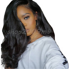250% Lace Front Wigs Baby Hair Pre Plucked Brazilian Body Wave Bleached Knot Wig