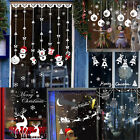 Christmas Wall Art Removable Home Vinyl Window Wall Stickers