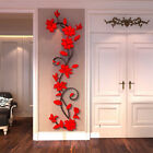 3D Flower Decal Vinyl Decor Art Removable Mural Family Living Room Wall Sticker