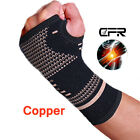 wrist brace sports - Copper Palm Hand Brace Compression Wrist Support Protector Wristband Sport SFC