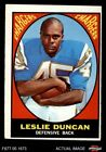 1967 Topps #131 Speedy Duncan Chargers EX $21.0 USD