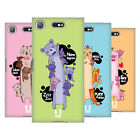 HEAD CASE DESIGNS LONG ANIMALS SOFT GEL CASE FOR SONY XPERIA XZ1 COMPACT
