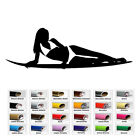 Women Surf decal sticker for home window wall door decor car laptop Art Macbook