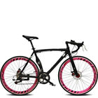 Road Bike Cycling 14 Speed 26 Inch Unisex Adult SHIMANO TX30 Double Disc Brake