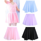 Внешний вид - US Girls Ballet Tutu Dance Wear Kids Chiffon Dance Wrap Skirt Dress Gym Costume
