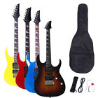 New 170 Style 4 Colors Electric Guitar +Strap+Cord+Gigbag+Picks