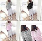 Women Casual Hooded Long Sleeve Hoodie Sweatshirt Sweater Coat Pullover Tops New