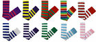 PURPLE RED WHITE SUMMER OVER KNEE STRIPED FANCY DRESS SOCKS
